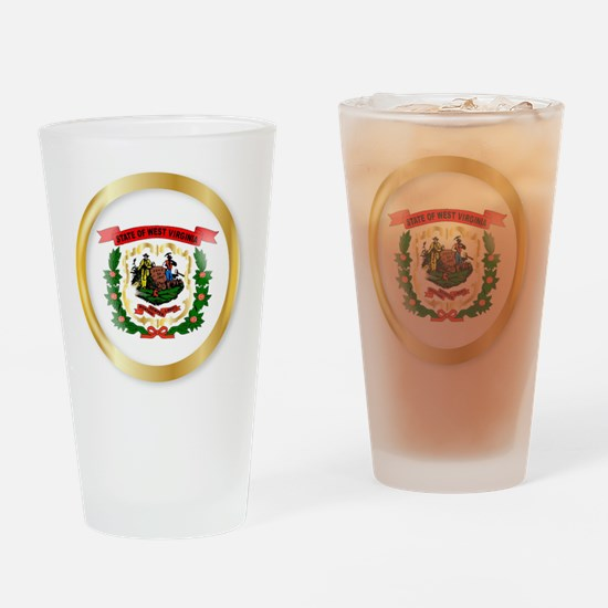 Cute Us flag souvenirs Drinking Glass