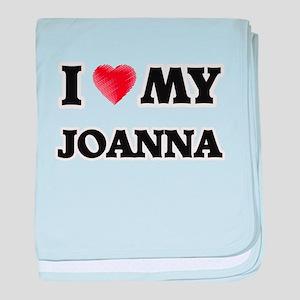 I love my Joanna baby blanket