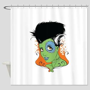 Bride Of Frankenstein Shower Curtains Cafepress