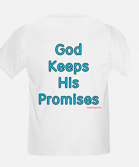 Blue Noah's Cross Kids T-Shirt