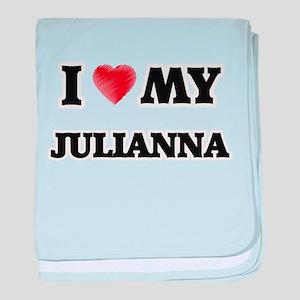 I love my Julianna baby blanket