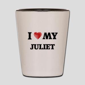 I love my Juliet Shot Glass