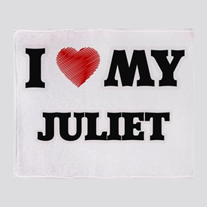 I love my Juliet Throw Blanket