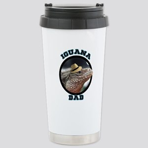 Iguana Dad Stainless Steel Travel Mug
