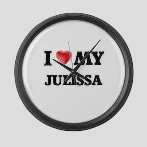 I love my Julissa Large Wall Clock