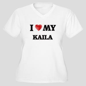 I love my Kaila Plus Size T-Shirt
