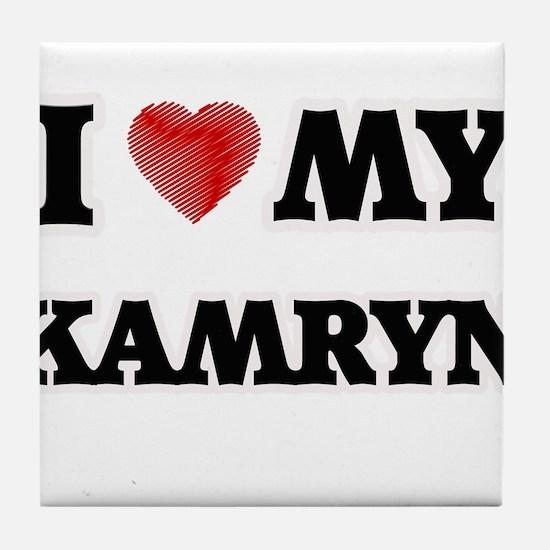 I love my Kamryn Tile Coaster