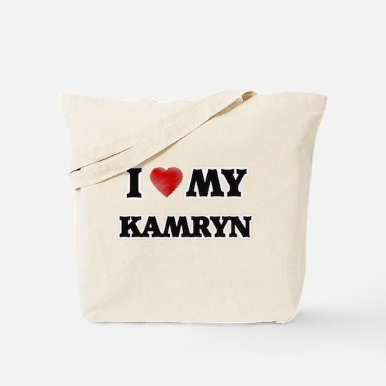 I love my Kamryn Tote Bag