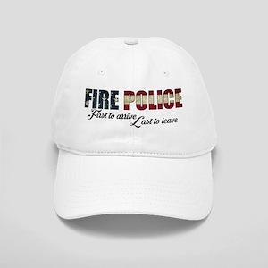 Fire police flag Baseball Cap
