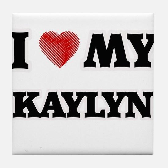 I love my Kaylyn Tile Coaster