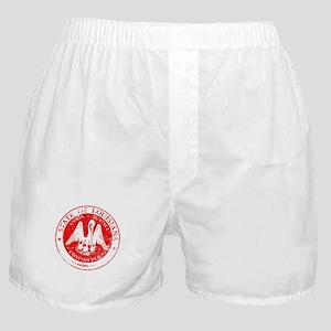 Louisiana Seal Stamp Boxer Shorts