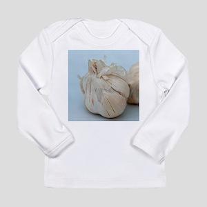 Garden Fresh Garlic Long Sleeve Infant T-Shirt