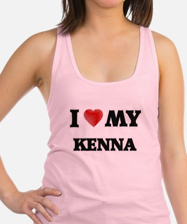 I love my Kenna Racerback Tank Top