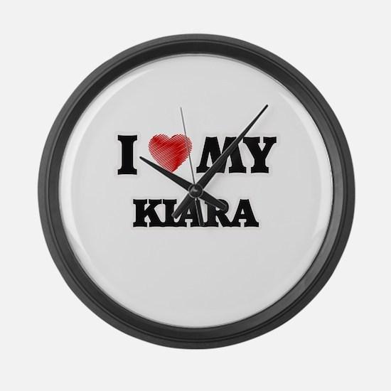 I love my Kiara Large Wall Clock