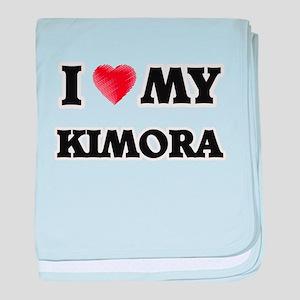 I love my Kimora baby blanket