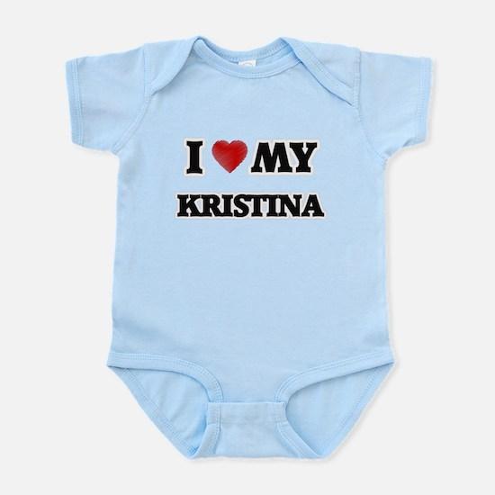 I love my Kristina Body Suit