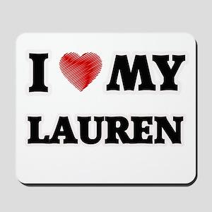 I love my Lauren Mousepad
