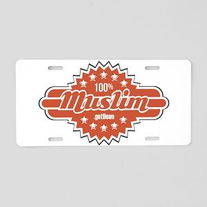 100% Muslim .gotDeen Aluminum License Plate