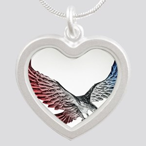 Red White and Blue Eagle 2 Necklaces