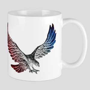 Red White and Blue Eagle 2 Mugs