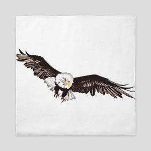 Soaring Bald Eagle Queen Duvet