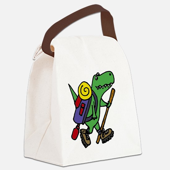 Unique Funny hiking Canvas Lunch Bag