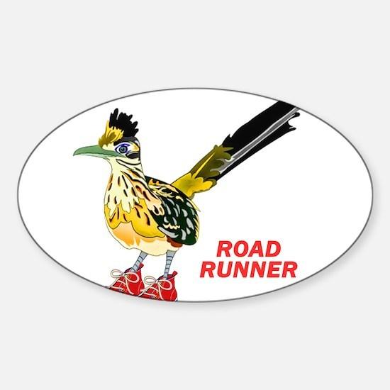 Road Runner in Sneakers Decal