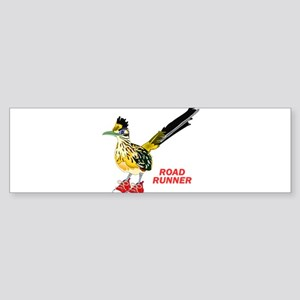 Road Runner in Sneakers Bumper Sticker