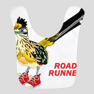 Road Runner in Sneakers Bib