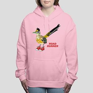 Road Runner in Sneakers Women's Hooded Sweatshirt