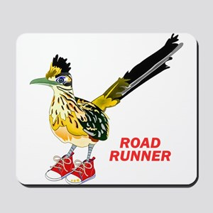 Road Runner in Sneakers Mousepad