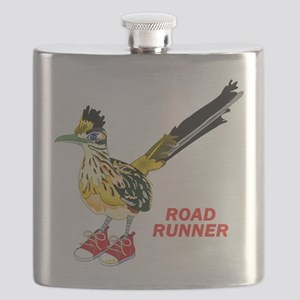 Road Runner in Sneakers Flask