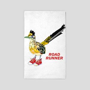 Road Runner in Sneakers Area Rug