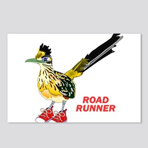 Road Runner in Sneakers Postcards (Package of 8)
