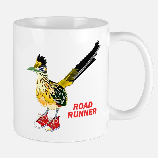 Road Runner in Sneakers Mugs