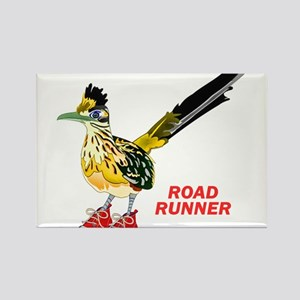 Road Runner in Sneakers Magnets