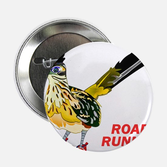 "Road Runner in Sneakers 2.25"" Button (100 pack)"