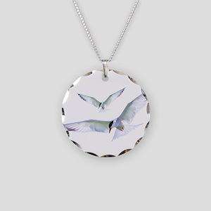 Turn Tern Turn Necklace Circle Charm