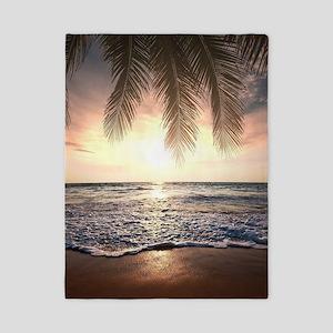 Tropical Beach Twin Duvet