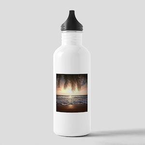Tropical Beach Water Bottle