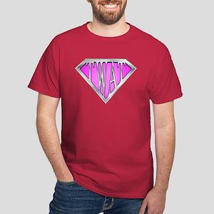 SuperTwat(Pink) Dark T-Shirt