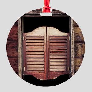 Saloon Doors Ornament