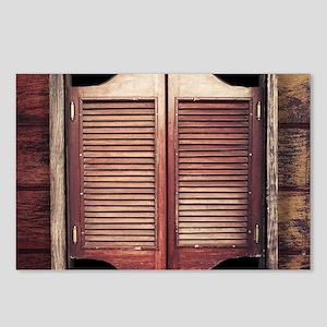 Saloon Doors Postcards (Package of 8)