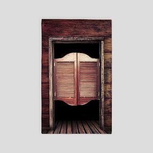 Saloon Doors Area Rug