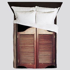 Saloon Doors Queen Duvet