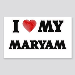 I love my Maryam Sticker