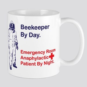 Beekeeper by day Large Mugs