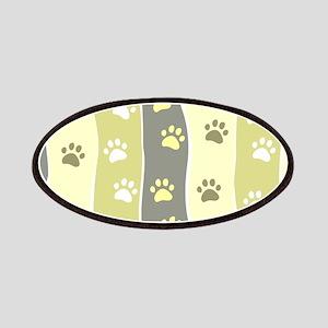Cute Paw Prints Patch