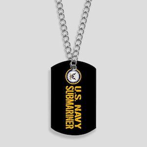 U.S. Navy: Submariner (Black) Dog Tags