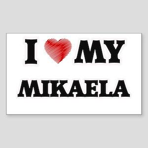 I love my Mikaela Sticker